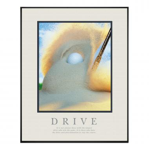 Drive Golf Motivational Poster