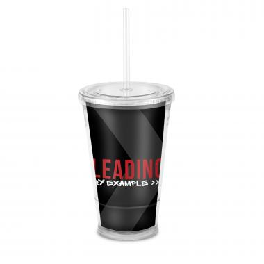 Leading by Example Acrylic Straw Tumbler