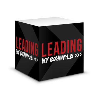 Leading by Example Self-Stick Note Cube