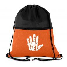 Together We Can Drawstring Backpack