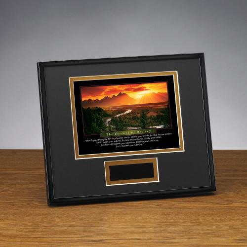 Essence of Destiny Framed Award