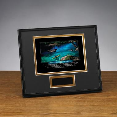 Essence of Character Framed Award