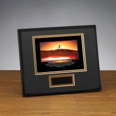 Successories Image Awards - Persistence Runner Framed Award