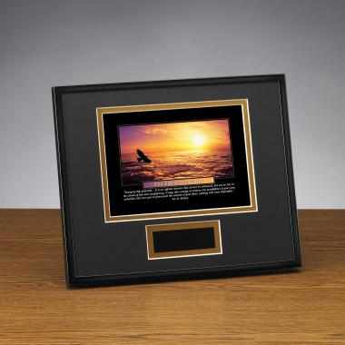 Sky's The Limit Framed Award