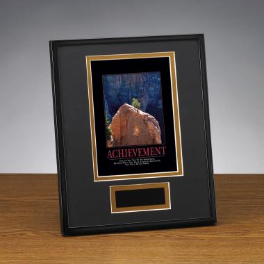 Achievement Tree Framed Award