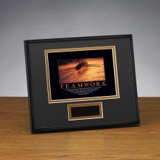 Teamwork Rowers Framed Award