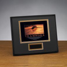Framed Award - Teamwork Rowers Framed Award