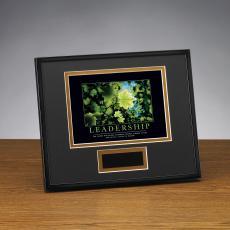 Framed Award - Leadership Leaf Framed Award