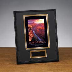 Framed Award - Perseverance Grand Canyon Framed Award