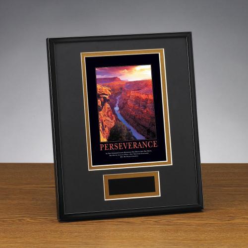 Perseverance Grand Canyon Framed Award