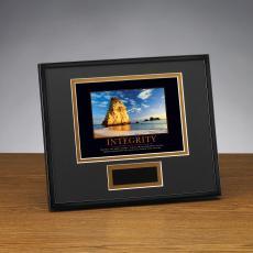Framed Award - Integrity Cathedral Framed Award