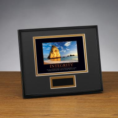 Integrity Cathedral Framed Award