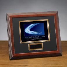 Framed Award - Above & Beyond Jets Framed Award