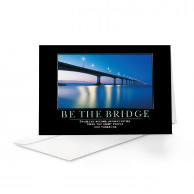 Be The Bridge 25-Pack Greeting Cards