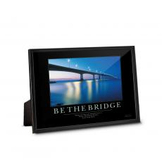Framed Desktop Prints - Be The Bridge Framed Desktop Print