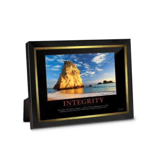 Integrity Cathedral Rock Framed Desktop Print