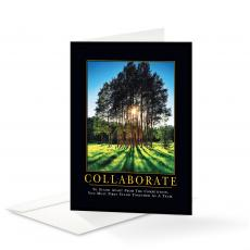 Motivational Cards - Collaborate Grove 25 Pack Greeting Cards