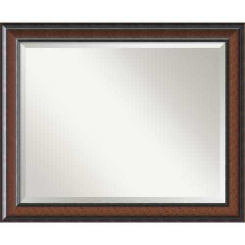 Cyprus Walnut Mirror - Large Office Art
