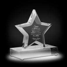 Trophy Awards - Exceptional Superstar Acrylic Award