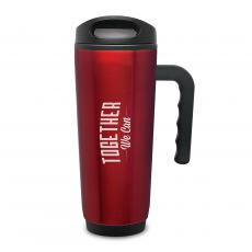 Desktop Motivation - Together We Can Travel Mug with Handle