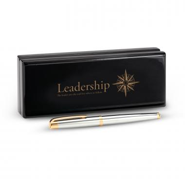Marquis by Waterford Pen and Case-Leadership Compass