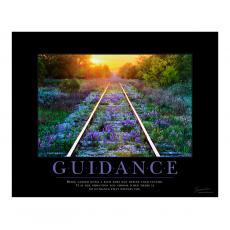 Motivational Posters - Guidance Railroad Tracks Motivational Poster