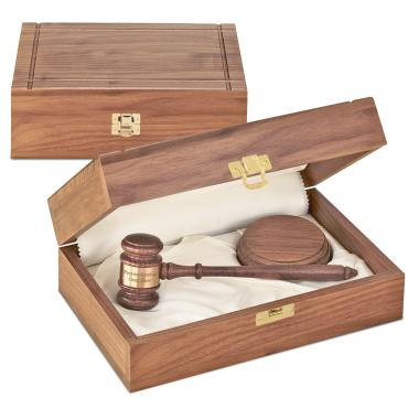 The Royal Personalized Gavel Set