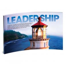 Desktop Prints - Leadership Lightouse Curved Desktop Acrylic