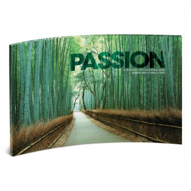 Passion Bamboo Path Curved Desktop Acrylic