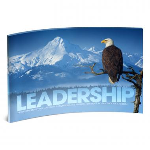 Leadership Eagle Branch Curved Desktop Acrylic