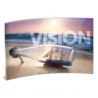 Vision Bridge Curved Desktop Acrylic