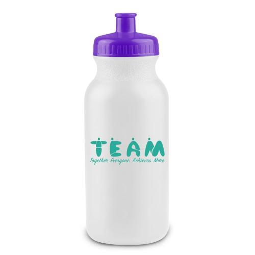 Teamwork People Squeeze Water Bottle