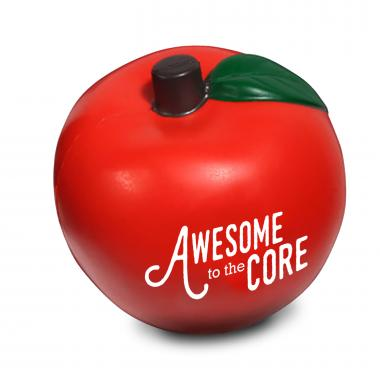 Awesome to the Core Apple Stress Reliever