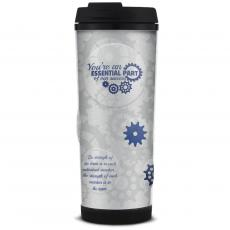 Thank You Gifts - You're An Essential Part Glitter Travel Tumbler