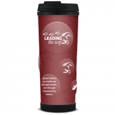 Leading the Way Glitter Travel Tumbler