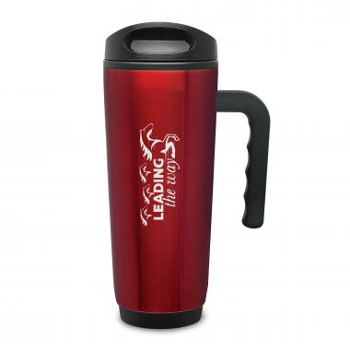 Leading the Way Travel Mug with Handle