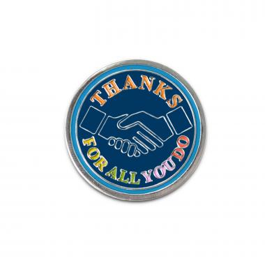 Thanks for All You Do Lapel Pin