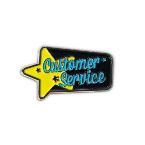 Customer Service Lapel Pin