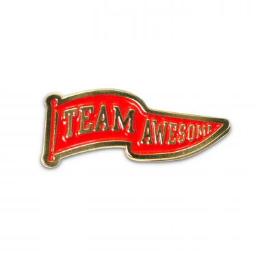 Team Awesome Lapel Pin