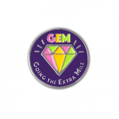 Going the Extra Mile Lapel Pin
