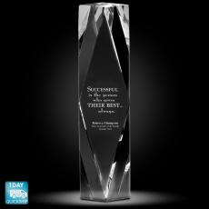 Quick Ship Awards - Prism of Excellence Crystal Award