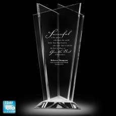 Quick Ship Awards - Achievement Is Everything Vase
