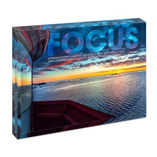 Focus Lighthouse Infinity Edge Acrylic Desktop