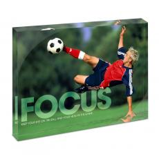 New Products - Focus Soccer Infinity Edge Acrylic Desktop
