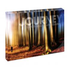 Modern Motivation - Journey Path Infinity Edge Acrylic Desktop