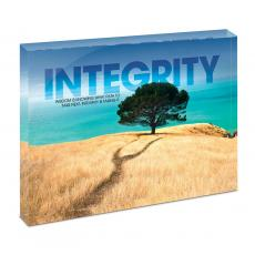 Modern Motivation - Intergrity Tree Infinity Edge Acrylic Desktop