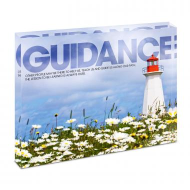 Guidance Lighthouse Infinity Edge Acrylic Desktop