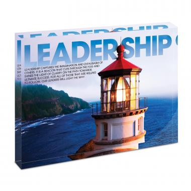 Leadership Lighthouse Infinity Edge Acrylic Desktop