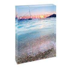 All Posters & Art - Opportunity Sailboat Infinity Edge Acrylic Desktop
