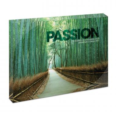 Passion Bamboo Path Infinity Edge Acrylic Desktop